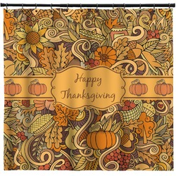 Thanksgiving Shower Curtain (Personalized)