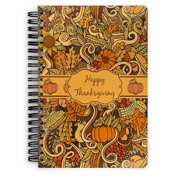 Thanksgiving Spiral Bound Notebook (Personalized)