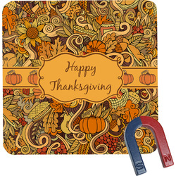 Thanksgiving Square Fridge Magnet (Personalized)