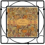 Thanksgiving Square Trivet (Personalized)