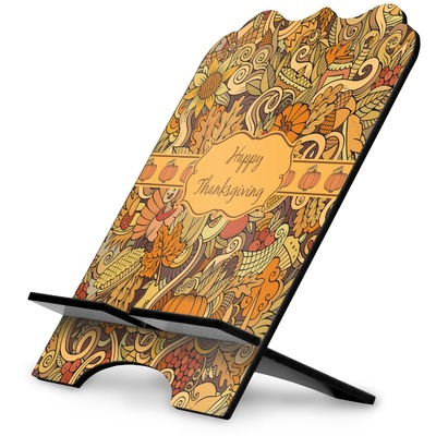 Thanksgiving Stylized Tablet Stand (Personalized)