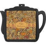 Thanksgiving Teapot Trivet (Personalized)