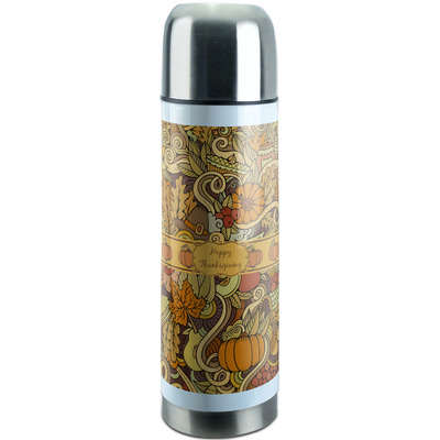 Thanksgiving Stainless Steel Thermos (Personalized)