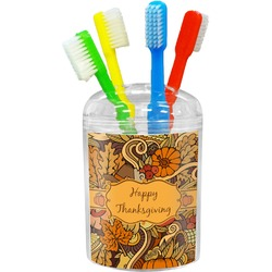 Thanksgiving Toothbrush Holder (Personalized)
