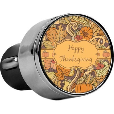 Thanksgiving USB Car Charger (Personalized)