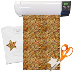 "Thanksgiving Heat Transfer Vinyl Sheet (12""x18"")"