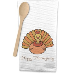 Thanksgiving Waffle Weave Kitchen Towel (Personalized)