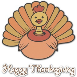 Thanksgiving Graphic Decal - Custom Sized (Personalized)