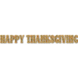 Thanksgiving Name/Text Decal - Custom Sized (Personalized)