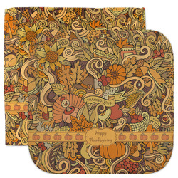 Thanksgiving Facecloth / Wash Cloth (Personalized)