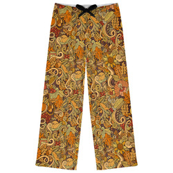 Thanksgiving Womens Pajama Pants (Personalized)