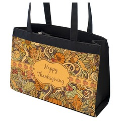 Thanksgiving Zippered Everyday Tote