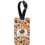 Traditional Thanksgiving Aluminum Luggage Tag (Personalized)