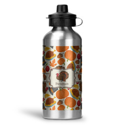 Traditional Thanksgiving Water Bottle - Aluminum - 20 oz (Personalized)