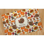 Traditional Thanksgiving Area Rug (Personalized)
