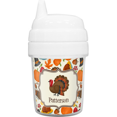 Traditional Thanksgiving Baby Sippy Cup (Personalized)