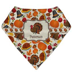 Traditional Thanksgiving Bandana Bib (Personalized)