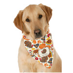 Traditional Thanksgiving Dog Bandana Scarf w/ Name or Text