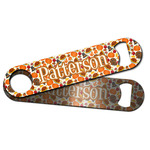 Traditional Thanksgiving Bar Bottle Opener w/ Name or Text