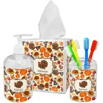 Traditional Thanksgiving Bathroom Accessories Set (Personalized)