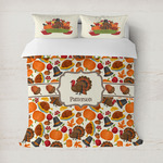 Traditional Thanksgiving Duvet Covers (Personalized)
