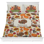 Traditional Thanksgiving Comforter Set (Personalized)