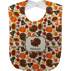 Traditional Thanksgiving Baby Bib (Personalized)