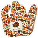 Traditional Thanksgiving Baby Bib w/ Name or Text