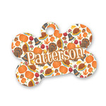 Traditional Thanksgiving Bone Shaped Dog Tag (Personalized)
