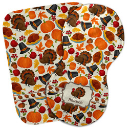 Traditional Thanksgiving Burp Cloth (Personalized)