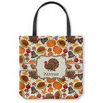 Traditional Thanksgiving Canvas Tote Bag (Personalized)