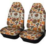 Traditional Thanksgiving Car Seat Covers (Set of Two) (Personalized)