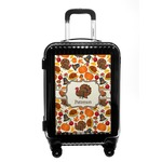 Traditional Thanksgiving Carry On Hard Shell Suitcase (Personalized)