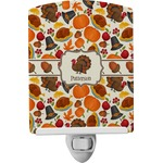 Traditional Thanksgiving Ceramic Night Light (Personalized)