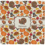 Traditional Thanksgiving Ceramic Tile Hot Pad (Personalized)