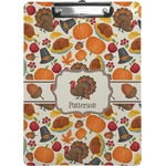 Traditional Thanksgiving Clipboard (Personalized)