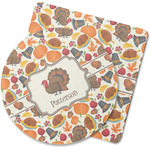Traditional Thanksgiving Rubber Backed Coaster (Personalized)