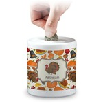 Traditional Thanksgiving Coin Bank (Personalized)