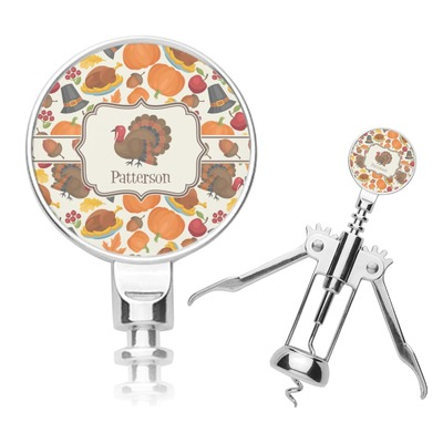 Traditional Thanksgiving Corkscrew (Personalized)