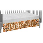 Traditional Thanksgiving Crib Skirt (Personalized)