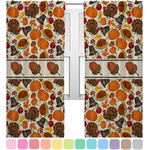 Traditional Thanksgiving Curtains (2 Panels Per Set) (Personalized)