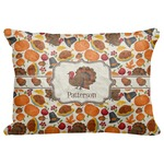 "Traditional Thanksgiving Decorative Baby Pillowcase - 16""x12"" (Personalized)"