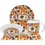 Traditional Thanksgiving Dinner Set - 4 Pc (Personalized)