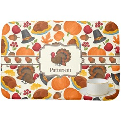 Traditional Thanksgiving Dish Drying Mat (Personalized)