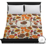 Traditional Thanksgiving Duvet Cover (Personalized)