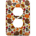 Traditional Thanksgiving Electric Outlet Plate (Personalized)