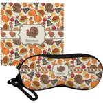 Traditional Thanksgiving Eyeglass Case & Cloth (Personalized)