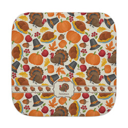 Traditional Thanksgiving Face Towel (Personalized)