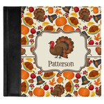 Traditional Thanksgiving Genuine Leather Baby Memory Book (Personalized)