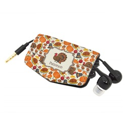 Traditional Thanksgiving Genuine Leather Cord Wrap (Personalized)